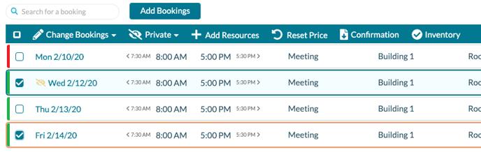 EE Booking tools
