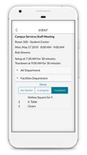 Mobile Room Setup Information