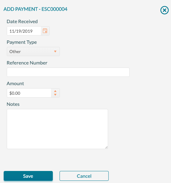 Applying Payments - Payment Detail