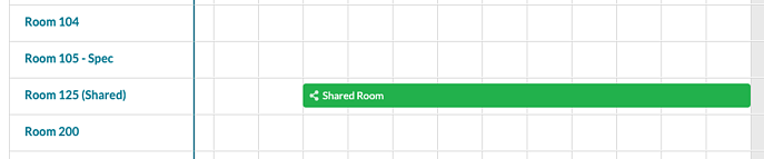 Event Book - Shared Room