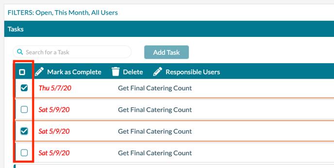 Manage Tasks - Selecting multiple tasks-1