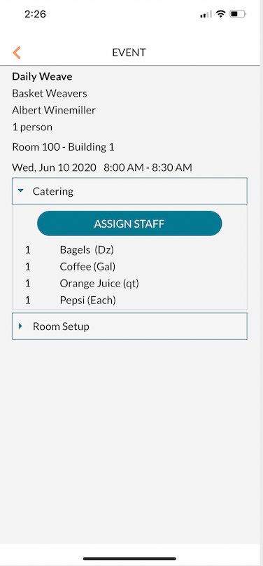 Operations - Assign Staff to a booking