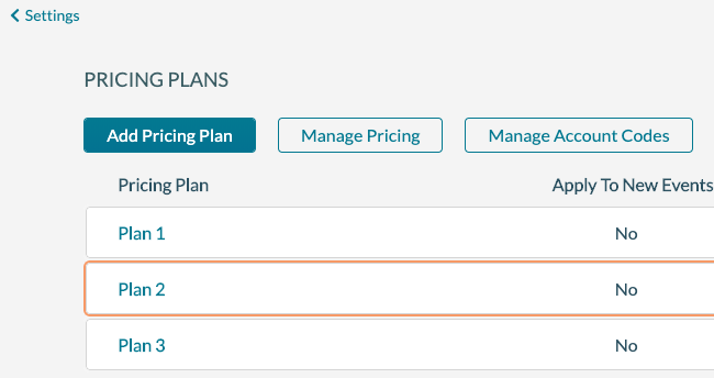 Pricing Plans 1