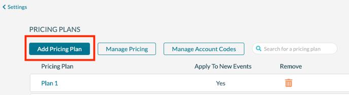Pricing plan 1