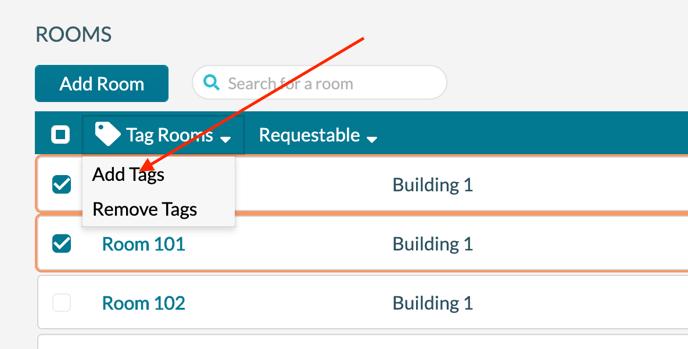 Room Tags 3 - Add Tag