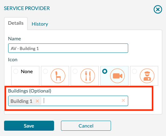 Service Provider Building limits