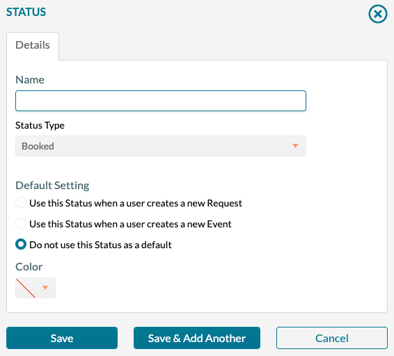 Status - Adding a new status record