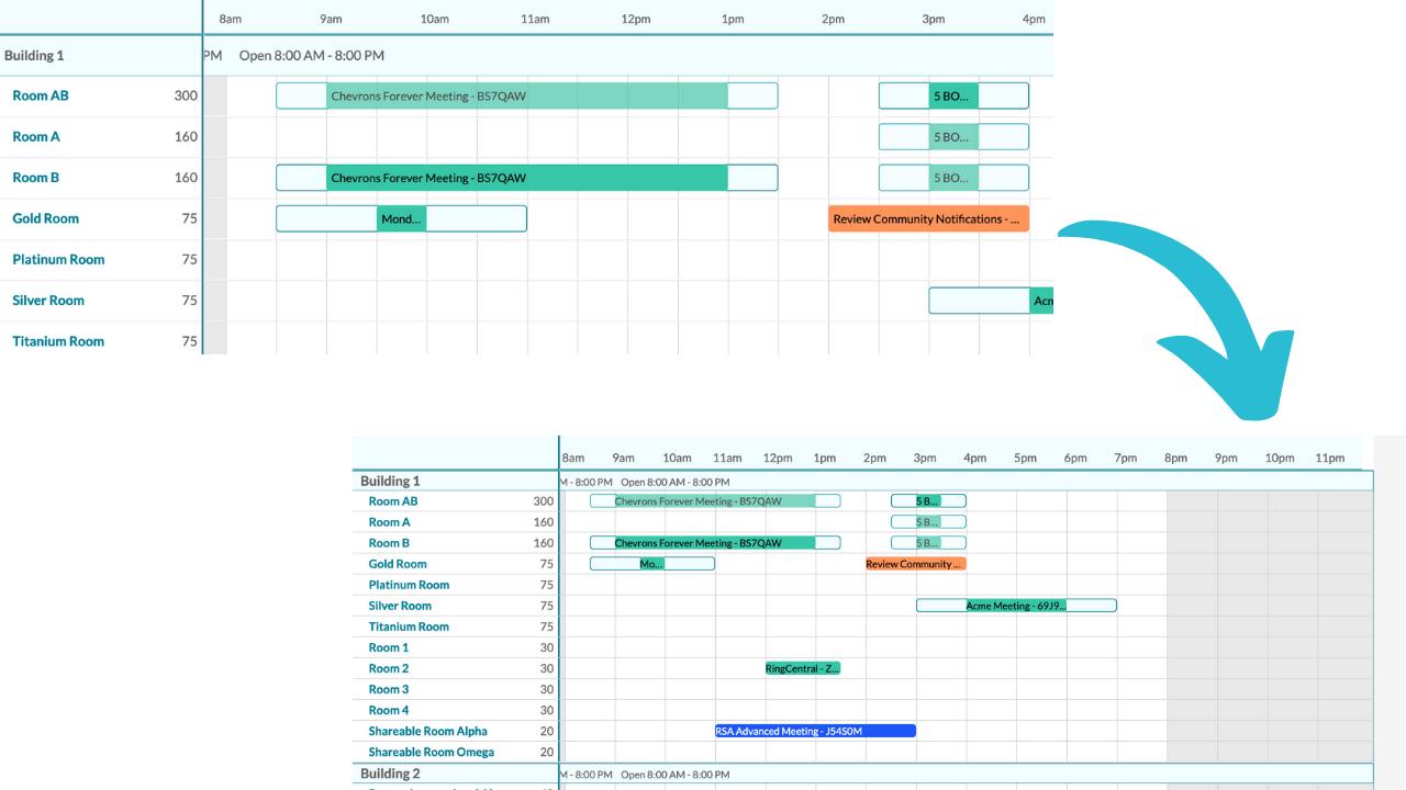 mazevo eventbook zoom Example
