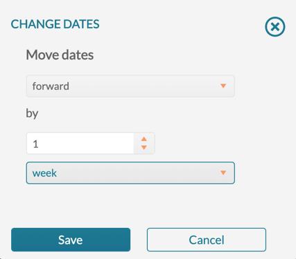 Change Event - Change Date