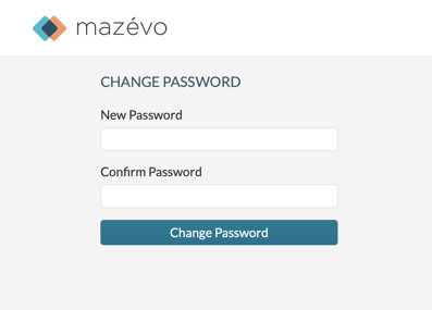 Change password - New Password