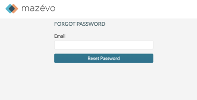 Change password - forgot password