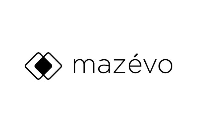 mazevo logo black