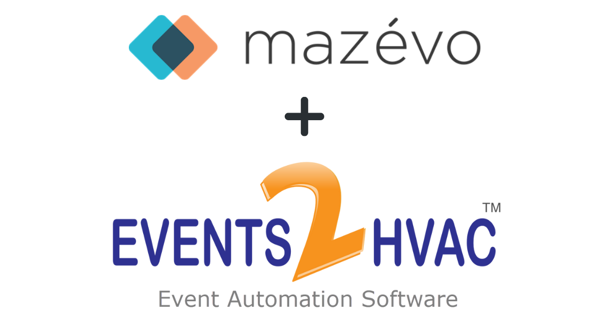 mazevo + events2hvac