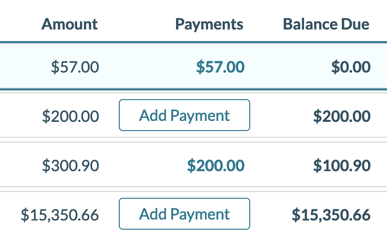 mazevo track event payments screen