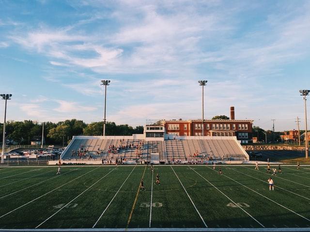 school football stadium