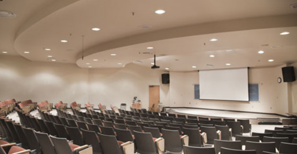 Lecture hall resource efficiency